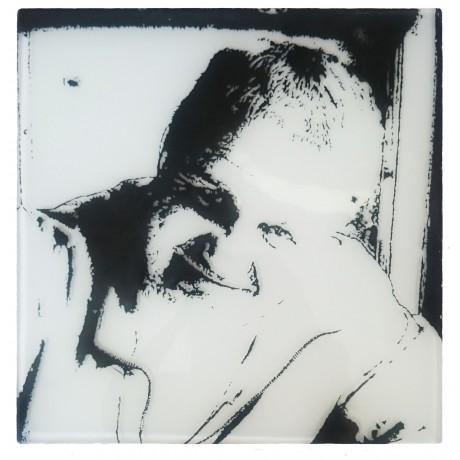 Портрет на стекле Изделия из стекла